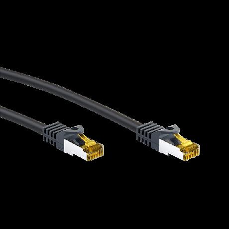 Goobay Netzwerkkabel RJ45 - 10 Meter - schwarz