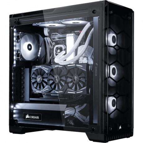 bestware Crystal 57X Extreme Edition - Intel Core i9 | Desktop-PC | front left