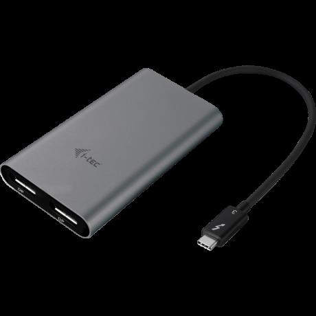 i-tec Thunderbolt 3/Dual DisplayPort adapter (TB3DUAL4KDP)