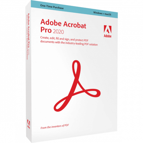 Adobe Acrobat Box Front