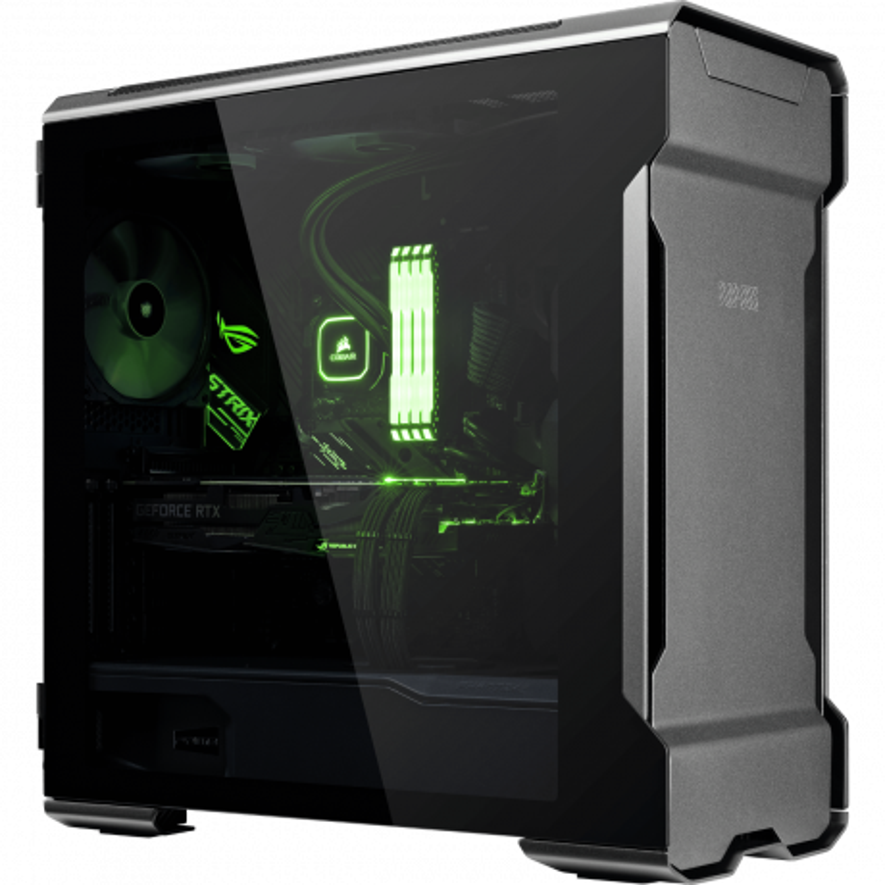 XMG TRINITY ATX - AMD  | Desktop-PC | front left