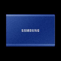 2 TB Samsung Portable SSD T7 blue - external hard drive