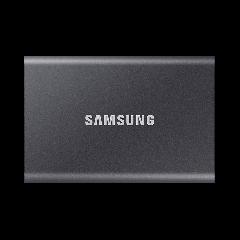 500 GB Samsung Portable SSD T7 grau - externe Festplatte
