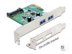 Delock USB 3.0 Typ-A PCI Express Erweiterungskarte