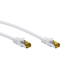 Goobay patch cable RJ45 - 15 metres - white