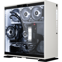 bestware 303 White Edition - AMD Ryzen | Desktop-PC | front left