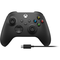 Microsoft Xbox Series X wireless controller incl. USB-C cable - black