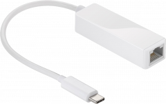 Goobay USB-C zu LAN Adapter