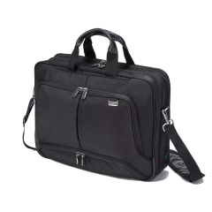 Dicota Eco Top Traveller PRO - 15,6 Zoll schwarz - Laptoptasche - Vorderseite