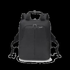 Dicota Eco Backpack Slim PRO - 14,1 Zoll schwarz - Laptoprucksack Front