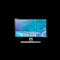 Samsung U28E590D - 28'' LED-Monitor front