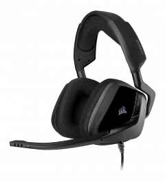 Corsair Void ELITE Surround Carbon - kabelgebundenes Gaming-Headset front left