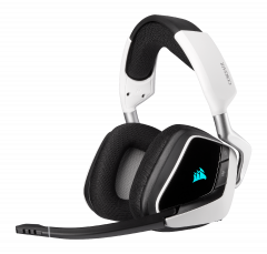 Corsair Void ELITE Wireless White - kabelloses Gaming-Headset front left