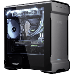 XMG TRINITY mATX - AMD Ryzen  | Desktop-PC | front left