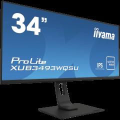 iiyama ProLite XUB3493WQSU-B1 - 34-Zoll-Monitor front left
