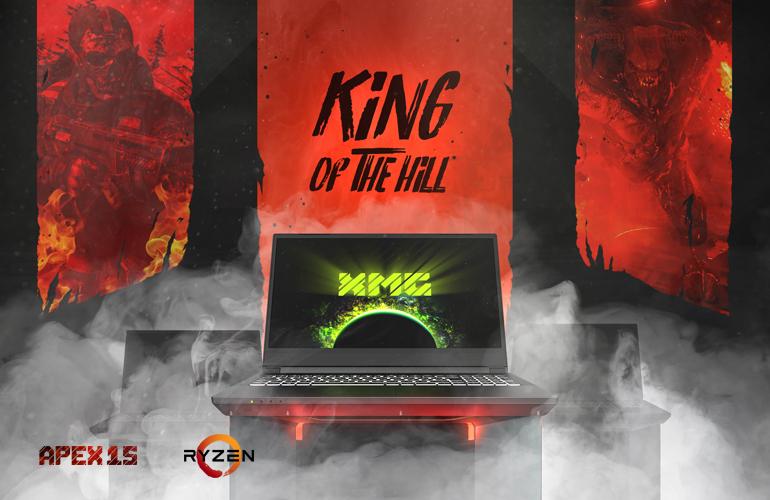 XMG APEX 15 AMD Ryzen 3000 Gaming Laptop