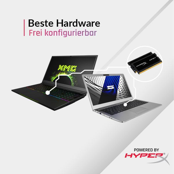 Beste Hardware - Frei konfigurierbar