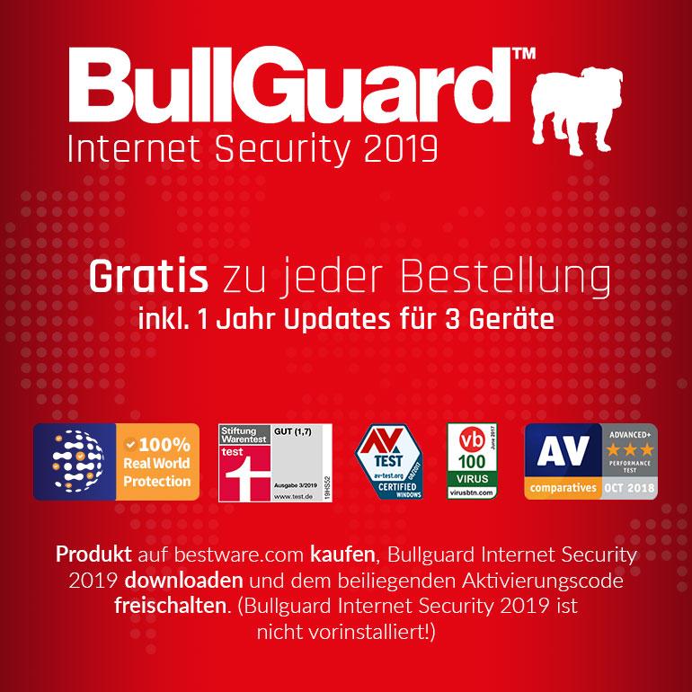 BullGuard gratis Aktion