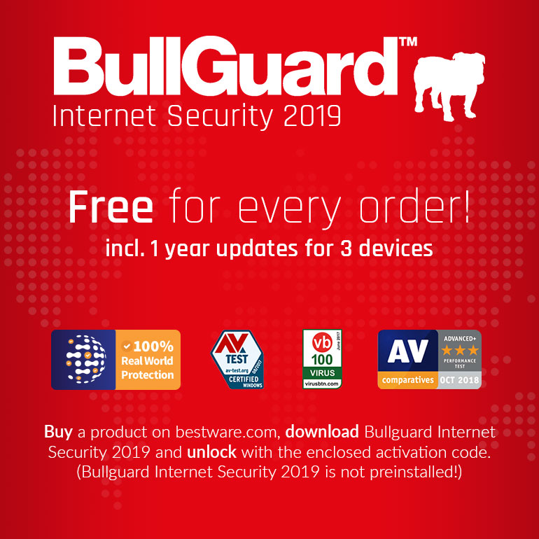 Bullguard Internet Security for free