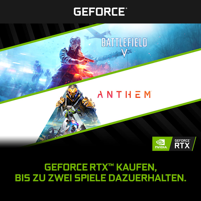 NVIDIA RTX Battlefield 5 Anthem Bundle