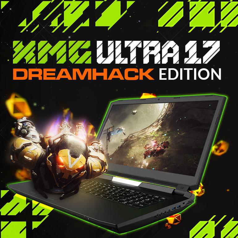 XMG ULTRA 17 Dreamhack Edition