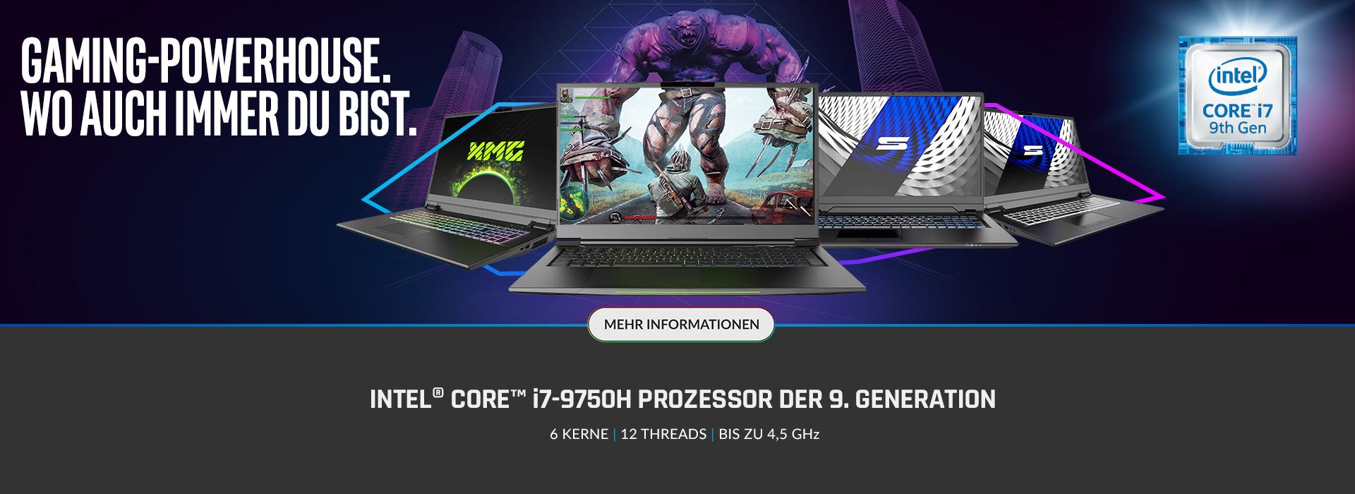 Interl Core i7-9750H