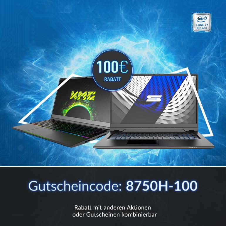 Sparen beim Intel i7-8750H