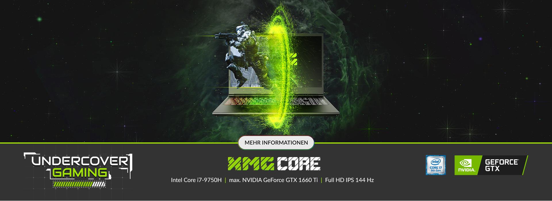 Die neue XMG CORE Serie - Undercover Gaming