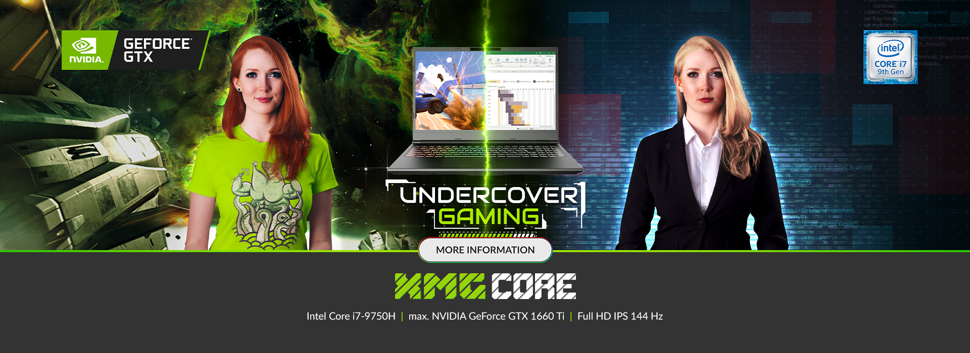 The new XMG CORE series - Undercover Gaming