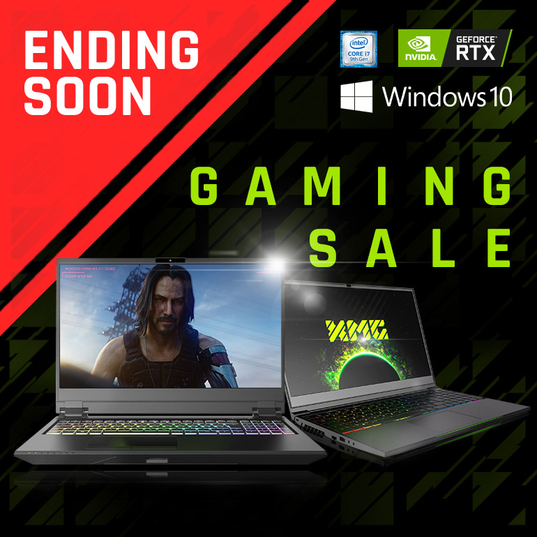 XMG Gaming-Laptop Sale
