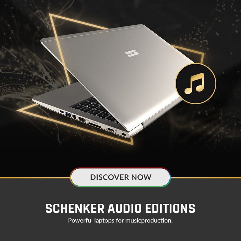 SCHENKER AUDIO EDITIONS - optimized Laptops for audio & video production