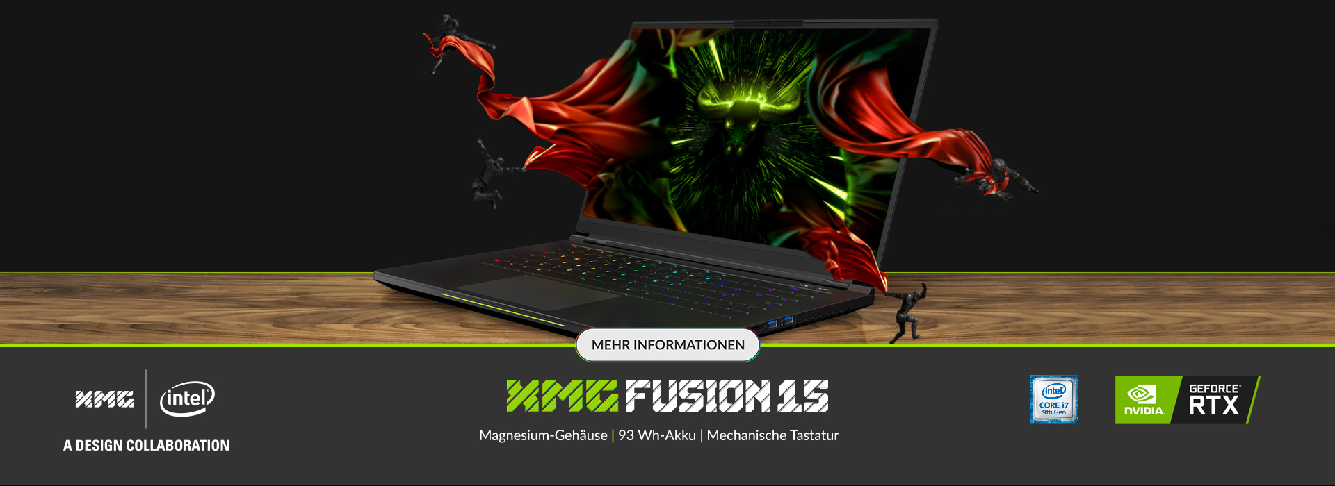 XMG FUSION 15