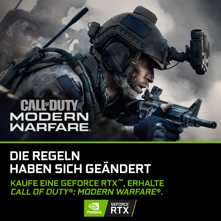 NVIDIA GeForce RTX Call of Duty Modern Warfare Bundle