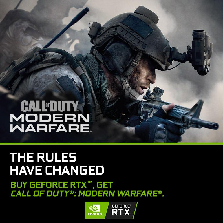 NVIDIA GeForce RTX Call of Duty: Modern Warfare