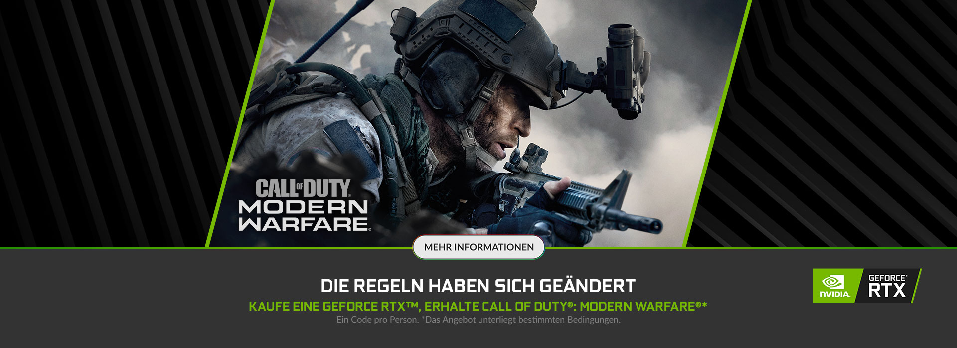 NVIDIA GeForce RTX Call of Duty: Modern Warfare Bundle