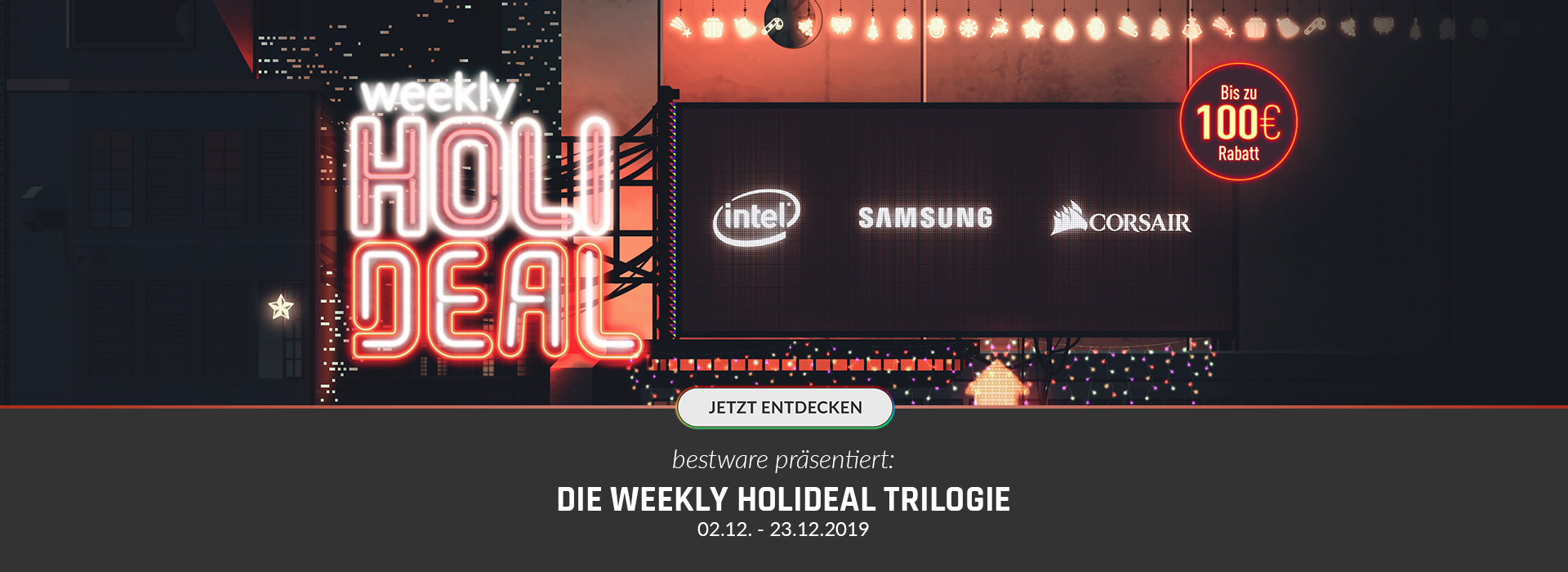 Weekly HoliDeal Trilogie