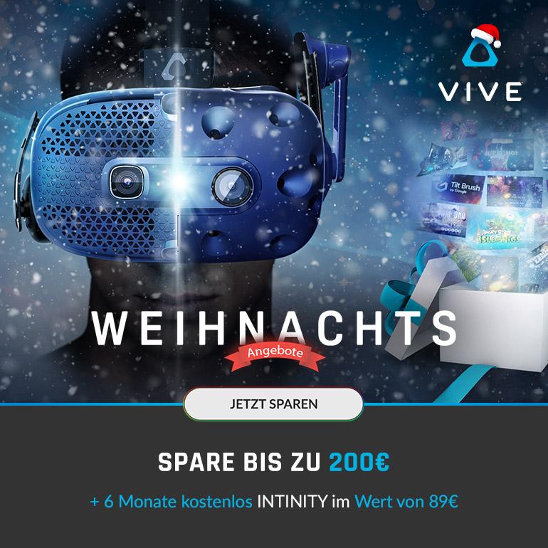 HTC VIVE Weihnachtsangebote