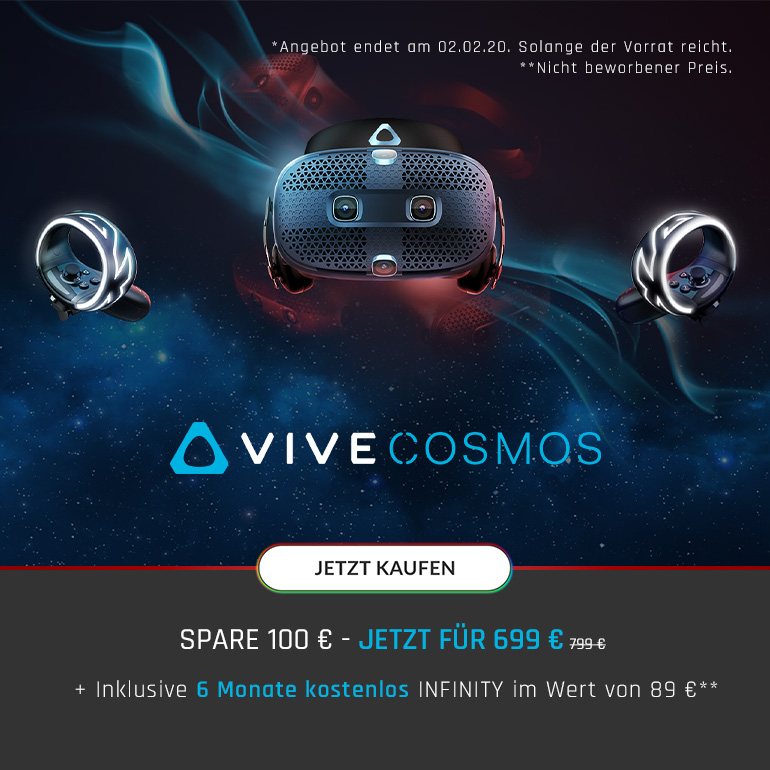 HTC VIVE COSMOS Aktion