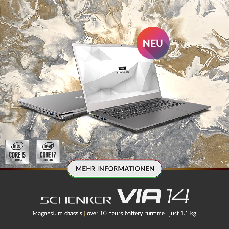 SCHENKER VIA 14 Ultrabook