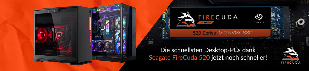 Boosted by Seagate FireCuda 520