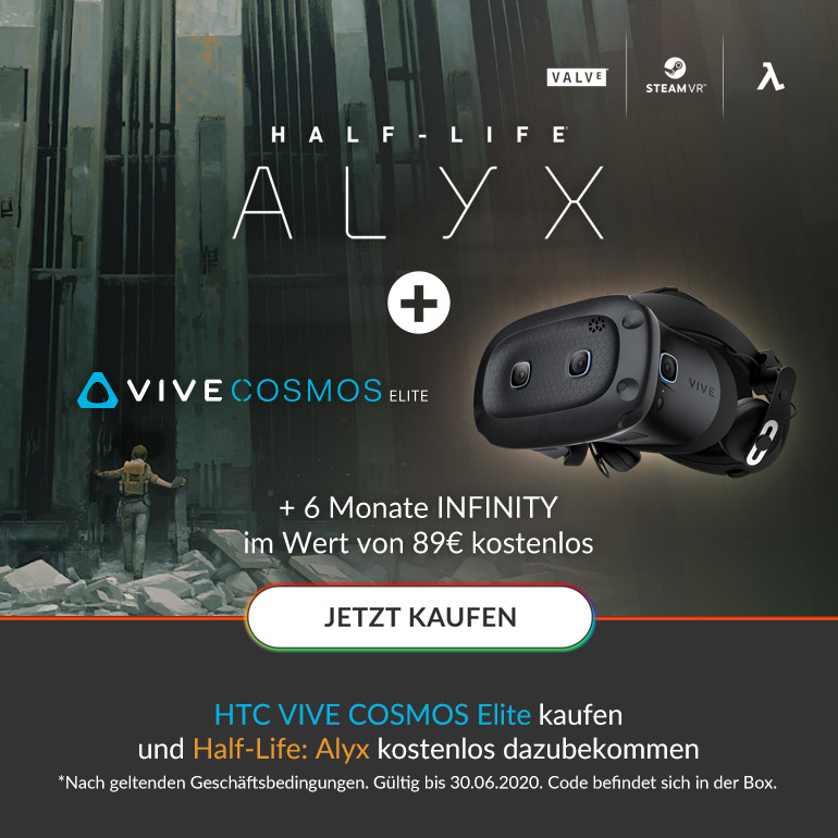 HTC VIVE COSMOS Elite - Half-Life:Alyx for free Bundle