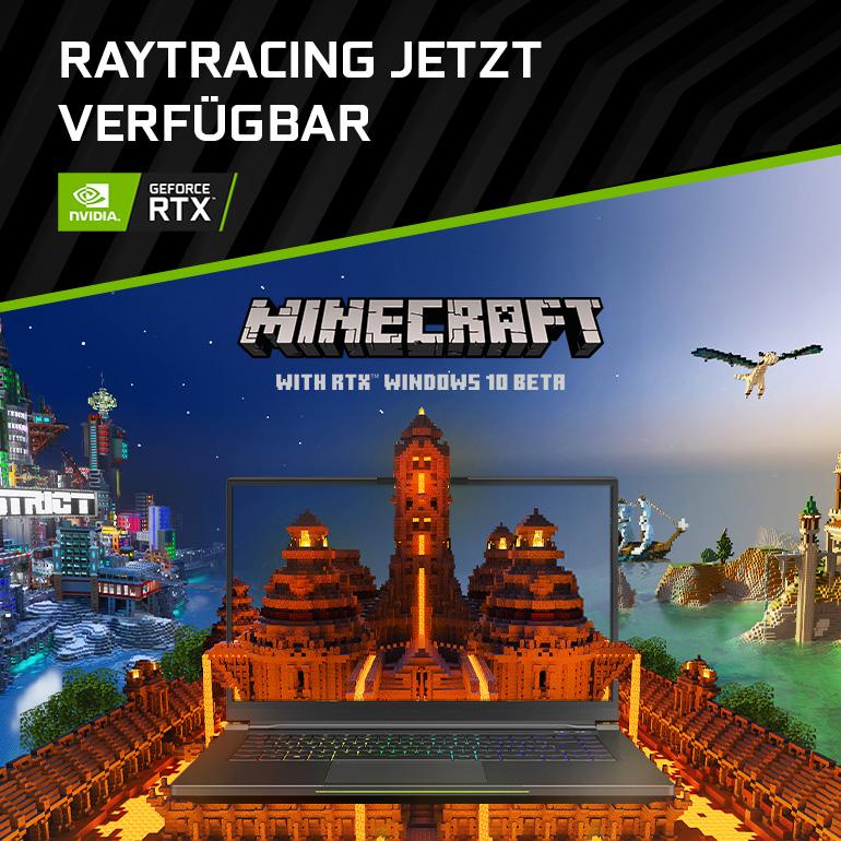 Minecraft mit RTX