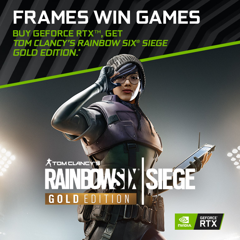 NVIDIA Rainbow Six: Siege Bundle