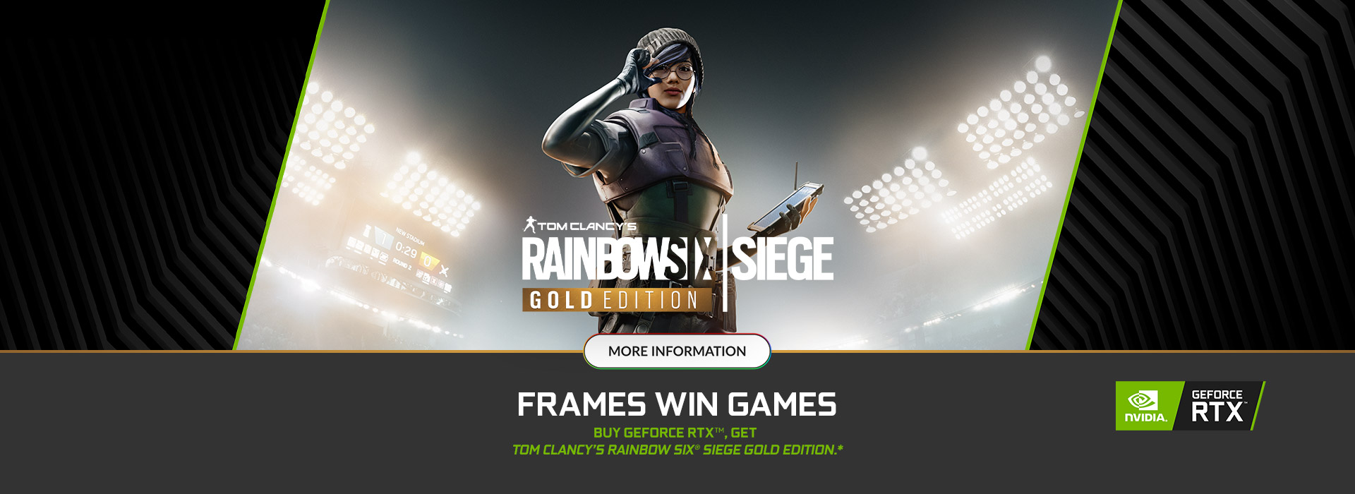 NVIDIA Rainbow Six: Siege Bundle