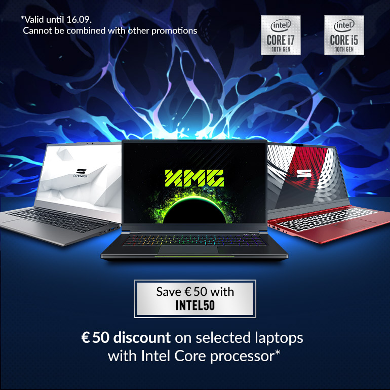 Save € 50 with Intel