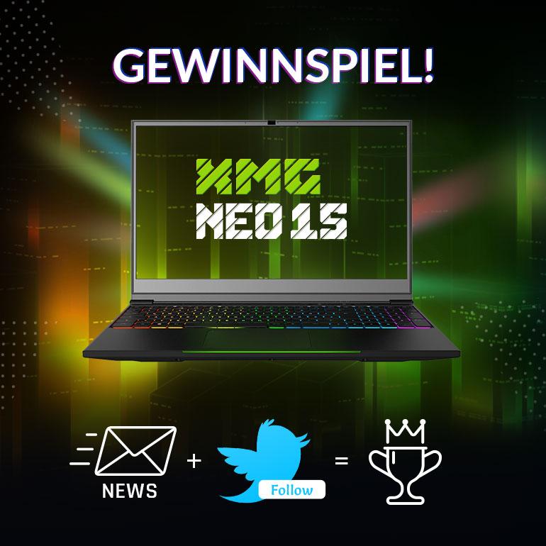 XMG NEO 15 Gewinnspiel