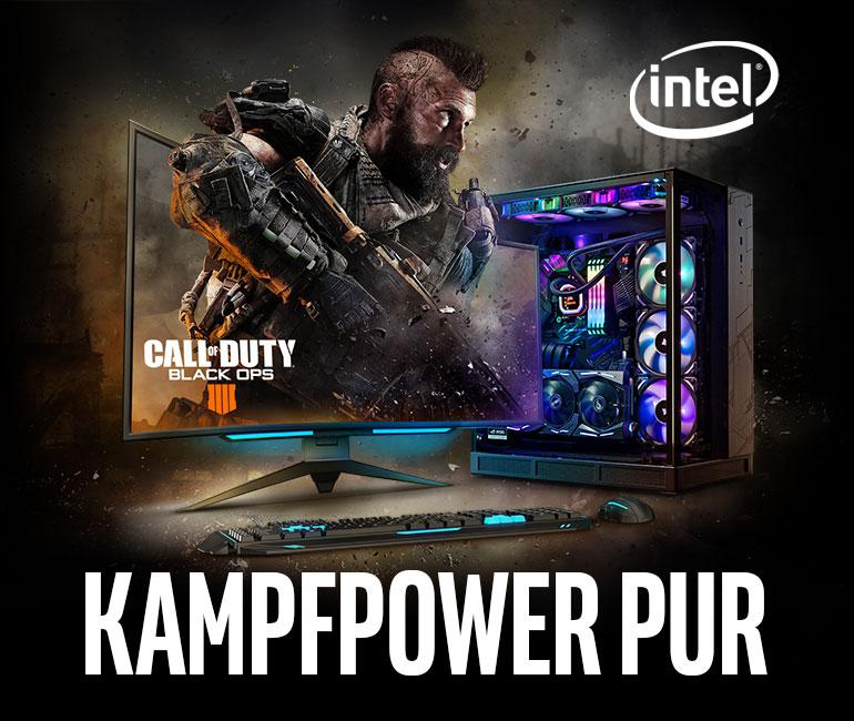 Kampfpower pur Intel