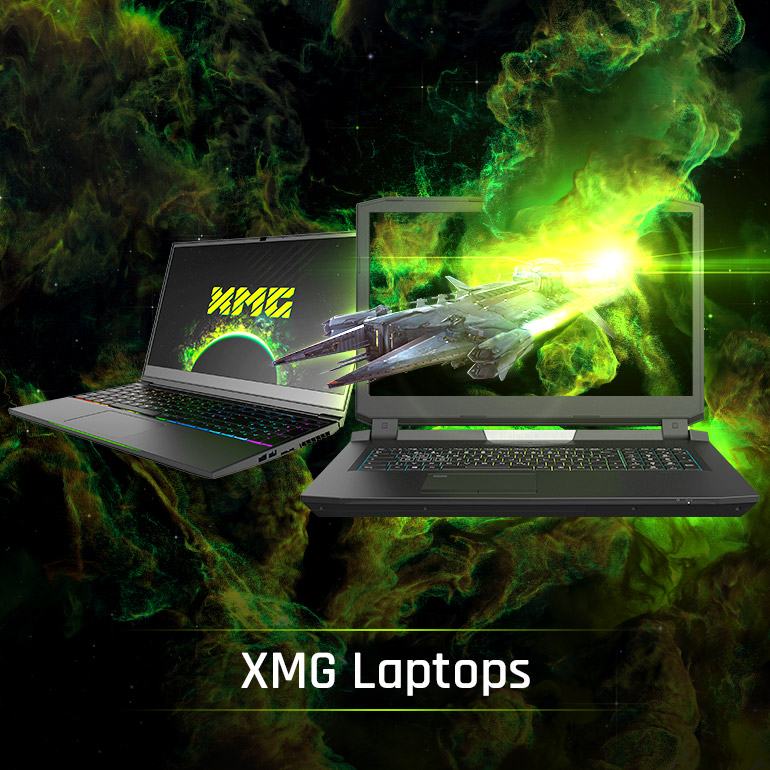 XMG Laptops