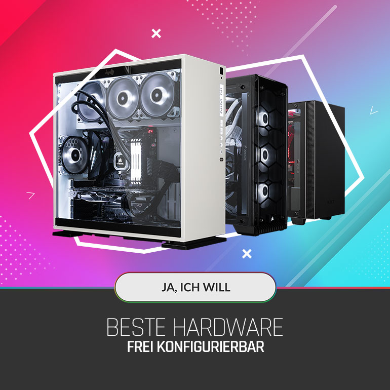 bestware frei konfigurierbar desktop-pc