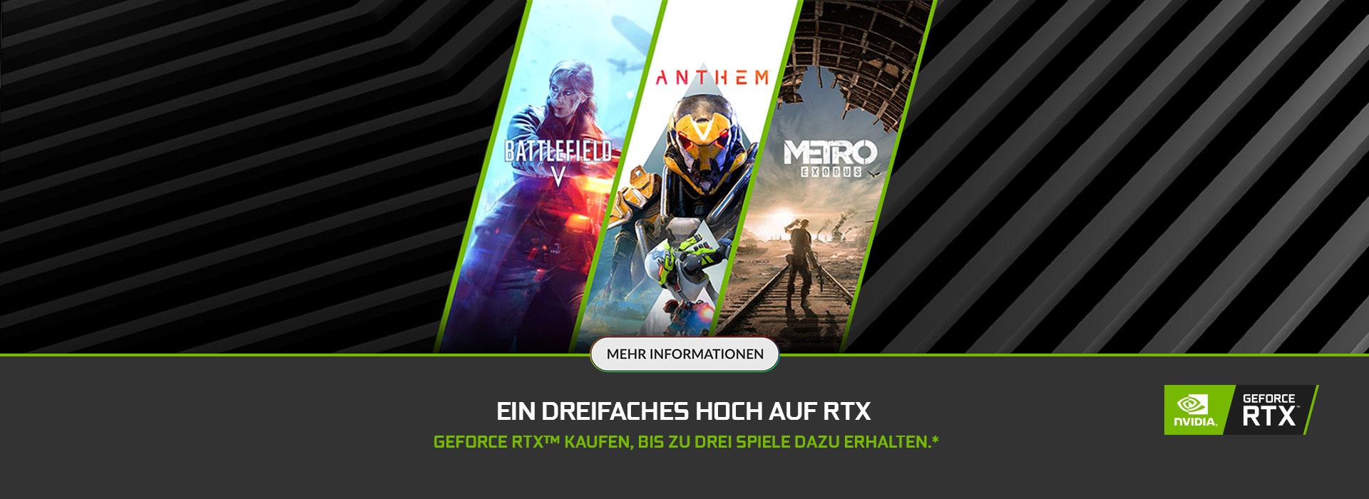 NVIDIA Triple RTX Bundle